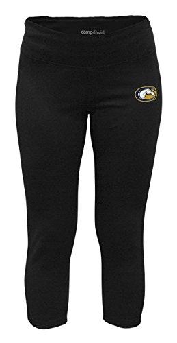 NCAA Crosstown Womens Cropped Active Lifestyle Pant, UC Davis Aggies, Black, Medium