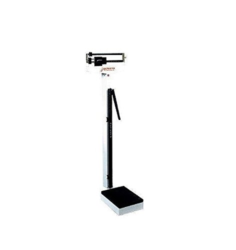 Detecto-339-Dual-Reading-Eye-Level-Physicians-Scale-with-Height-Rod