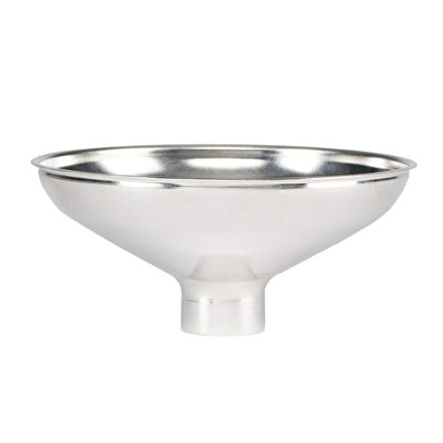 AllSpice Stainless Steel Metal Spice Funnel - 1 Bottom
