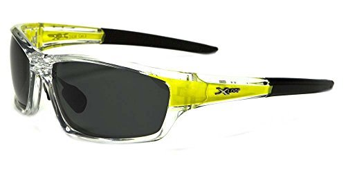 Polarized Wrap Around Fishing Driving Cycling Golf Sunglasses - Clear & - Work Sunglasses Polarized