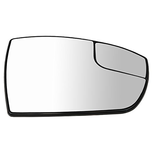 Power Heated Spotter Mirror Glass Mounting Base Passenger Side for C-Max Escape ()