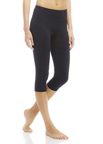 Marika Women's Carrie Slimming Capri Leggings, Midnight Blue, Medium