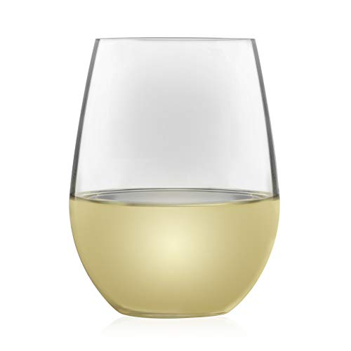- Libbey Signature Kentfield Estate All-Purpose Stemless Wine Glasses, Set of 4