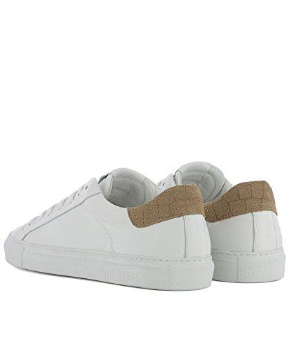 Hide & Jack Herren Skylcmlwhtcamelwhite Weiss Leder Sneakers