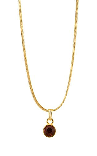 Handicraft Kottage Girl's Gold Plated Pendant (HK-SP-1072) by Handicraft Kottage