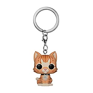 Funko Pop! Keychain Marvel – Captain Marvel – Goose The Cat Toy, Multicolor