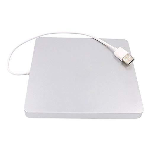 ❤️MChoice❤️USB 2.0 External DVD CD Drive High Speed Data Transfer DVD±RW DVD-ROM Burner (White)