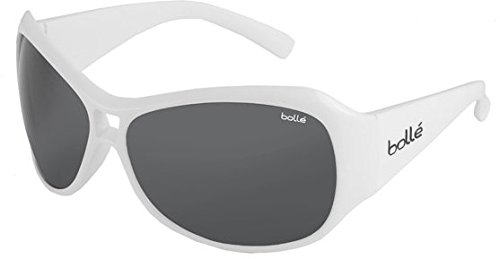 Bolle Kids Sarah Sunglasses (Shiny White, - Sunglasses For 12 Olds Year