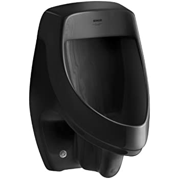 Kohler K 5016 Et 7 Dexter Elongated Urinal Black Black