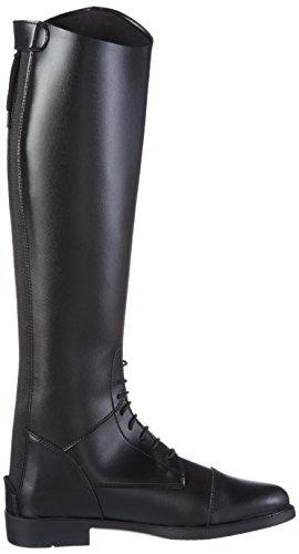 HKM–Botas de equitación para New Fashion largo Negro - negro