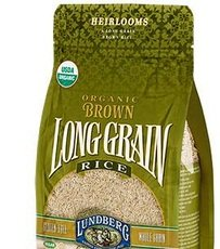 Lundberg Organic Long Grain Brown Rice, 1 Pound - 6 per case.