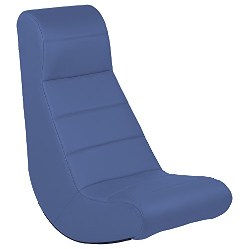 ECR4Kids SoftZone Ergonomic Horizontal Soft Video Rocker, Navy