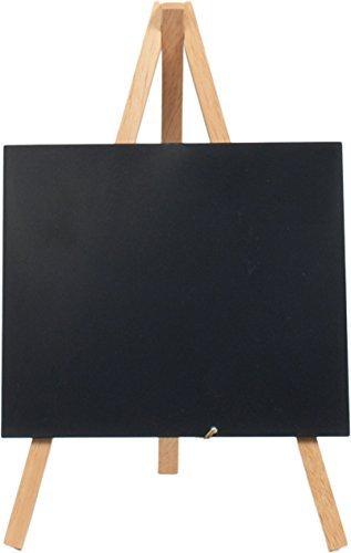 Dawson Jones Table Chalkboard Easel & Marker - by Securit (Small Tabletop Easel Chalkboard) (Dawson Accent)