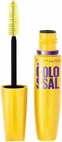 Maybelline New York Makeup Volum' Express The Colossal Washable Mascara, Glam Black Mascara, 0.31 fl oz