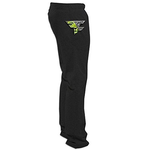 Price comparison product image Yesher Men's Faze Clan Team Logo Tiger Long SweaterPants - Black L