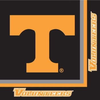 Creative Converting Tennessee Volunteers Luncheon Napkins (20 Count) -