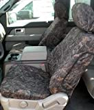 Durafit Seat Covers, F460-MP-V, Mixed Pine Camo, 2010-2013 Ford F150, Front Bucket Seats with Adjustable Headrests and Side Impact Airbags, Super Cab, Exact Fit Seat Covers in Velour Fabric