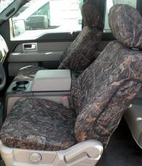 Durafit Seat Covers.F460 Mixed Pine Camo.2010-2013 Ford F150 Super Cab Exact Fit Seat Covers -