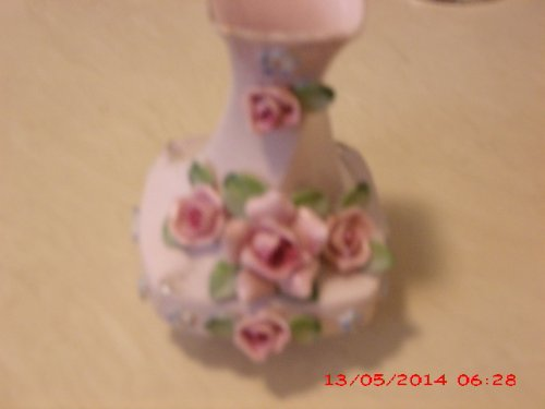 Vintage Lefton Fine China Bud Vase 6 Inches H1gh