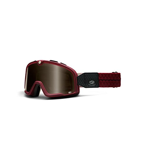 100% Unisex Adult Barstow Burgundy Legend Goggles - Barstow Stores