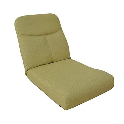 床怠惰なソファ床椅子Backゲーミングチェアとして使用するための背部サポート付き怠惰なソファチェア、5色(カラー:A) B07SY6YWJ5 A
