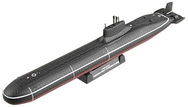 Navy Submarine Classes - Easy Model Russian Navy Typhoon Class Building Kit