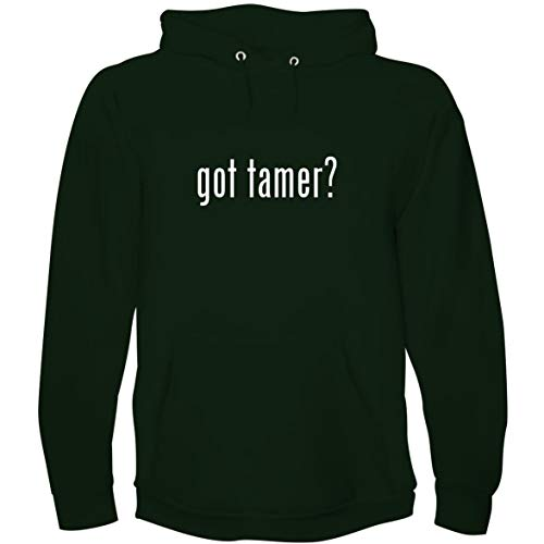 The Town Butler got Tamer? - Men's Hoodie Sweatshirt, Forest, X-Large ()