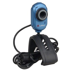 Labtec Webcam 2200 USB Webcam w/Built-in Microphone & Laptop LCD Clip-On (Blue)