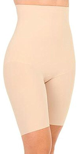 Wacoal Women's Try A Little Slenderness - Firm Control High Waist Thigh Slimmer, Naturally Nude, Small