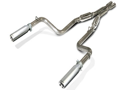 (SLP D31000 System, 2005-10 5.7L Charger/Magnum/300C Loudmouth (Modular) use w/Stock Exhaust)