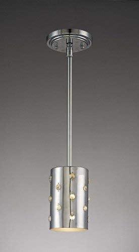 George Kovacs P031-077, Bling Bling, 1 Light Pendant, Chrome