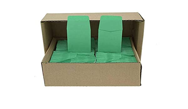 2x2 Paper Coin Envelopes Safe Storage Archival Brown Pack Of 50 Acid Free New