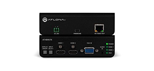 Atlona Technologies AT-HDVS-TX Dual HDMI and VGA/Audio to HDBaseT ()