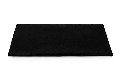 Camco 42904 Black Premium Wrap Around RV Step Rug (100% Polyester (17.5