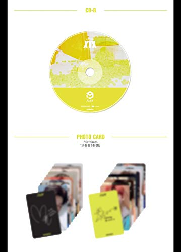 1THE9 - XIX (1st Mini Album) CD+104p Booklet+2Photocard+12Lyrics Book+1Speical Card+1Standing Photo+Folded Poster by POCKETDOL STUDIO (Image #3)