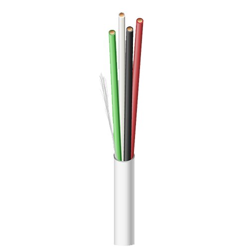 Southwire 14/4 CL3R Shielded Thermostat Cable (250 ft Spool ...