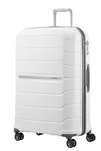 (SAMSONITE Flux - Spinner 75/28 Expandable Hand Luggage, 75 cm, 121 liters, White)