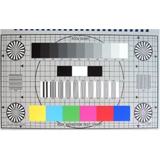 (Accu-Chart 16:9 HDTV High Definition Engineers Test Chart-by-Accu-Chart)