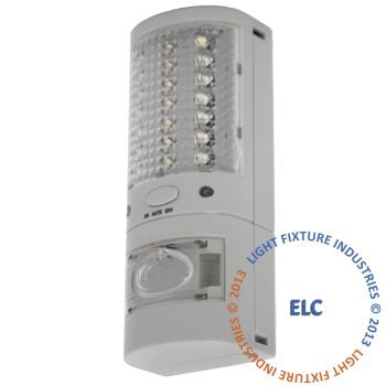 LFI Lights - Emergency LED Flashlight / Nightlight - Single