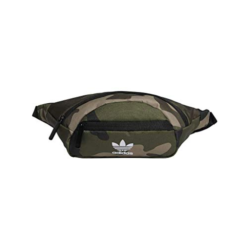 adidas Originals National Waist Pack, Olive Cargo Aw Camo, One Size