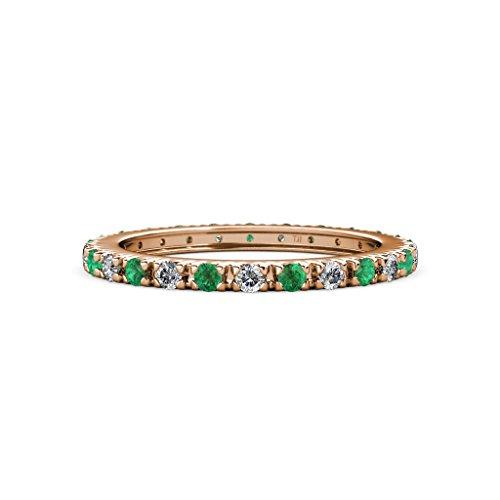 0.89 Ct Emerald Cut Diamond - 9