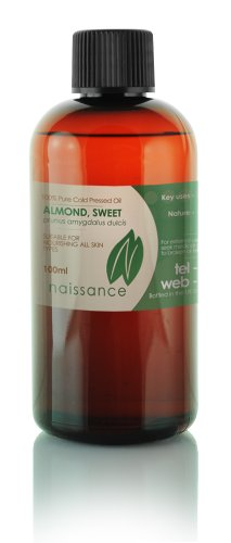 Naissance-Sweet-Almond-100-Pure-Cold-Pressed-Carrier-Oil-34-oz-100ml