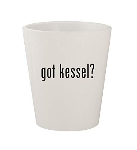 got kessel? - Ceramic White 1.5oz Shot Glass -