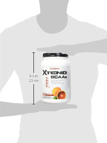 Scivation Xtend BCAA Powder, Branched Chain Amino Acids, BCAAs, Blood Orange, 90 Servings by Scivation (Image #7)