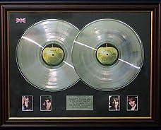The Beatles White Album Dble-Lp Platinum Scheibe /&Fotos