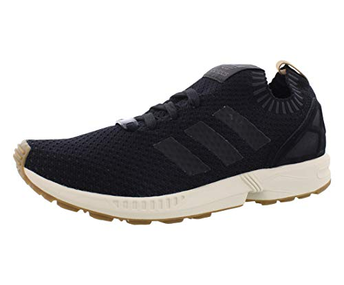 adidas Originals Men's Shoes | Zx Flux Sneakers, Black/Gum, (9.5 M US)