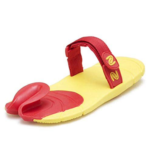 e217ba386a8a GenePe Comfortable Flip Flops Women Shoes Slippers Personality Sandals  Slippers Home Sheepshoe Type Funny Slippers Black Yellow