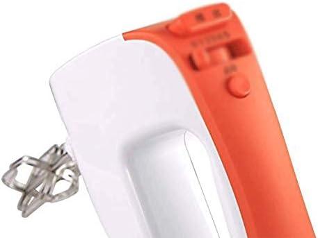XXDTG Batteur à Main Batteur électrique avec Pièces jointes en Acier Inoxydable et Bouton Turbo, Comprend;Beaters, Crochets pétrisseurs et Fouet