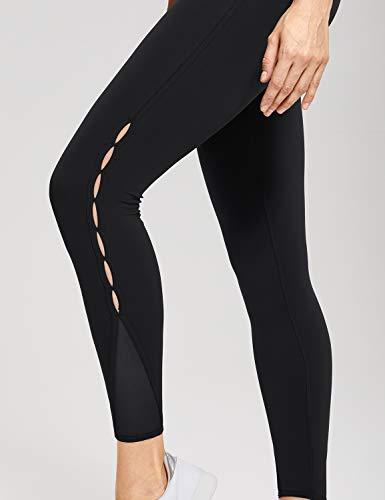 r422 Léger New Tissu Poche De En Femme Crz Sport Fitness Haute Yoga Noir Avec Taille Legging qpwgvRZ