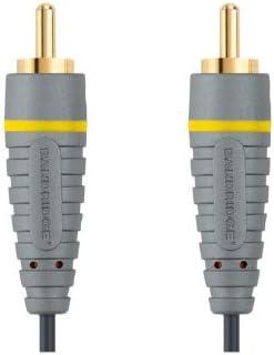 Bandridge BVL5010 - Cable de vídeo Compuesto, 10 m, Azul